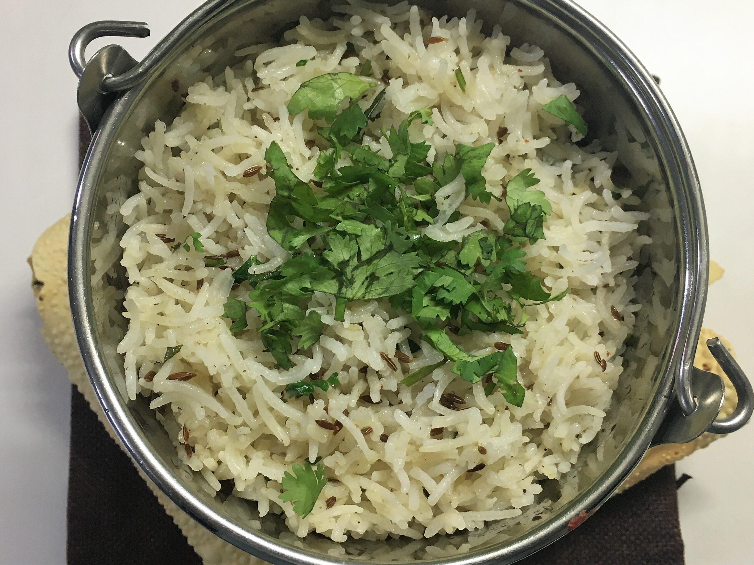 Jeera Rice (Restaurant Style)