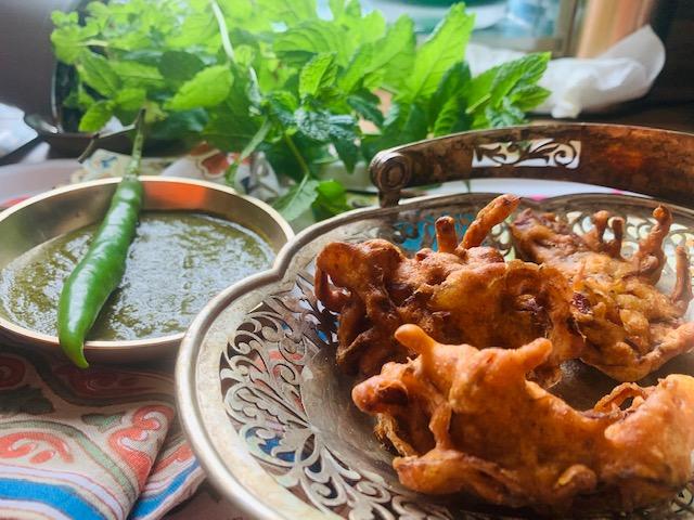Onion Bhajia Recipe