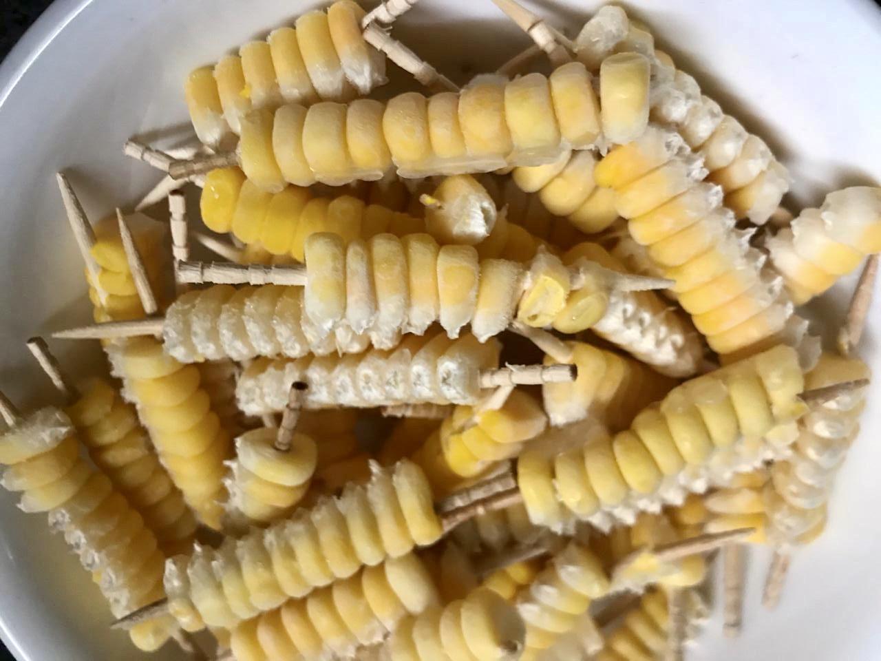 Crispy Corn Nibbles