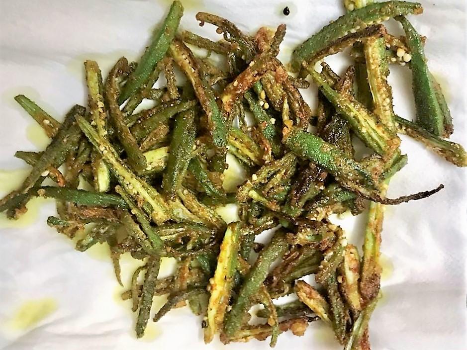 Kurkuri Bhindi/Okra