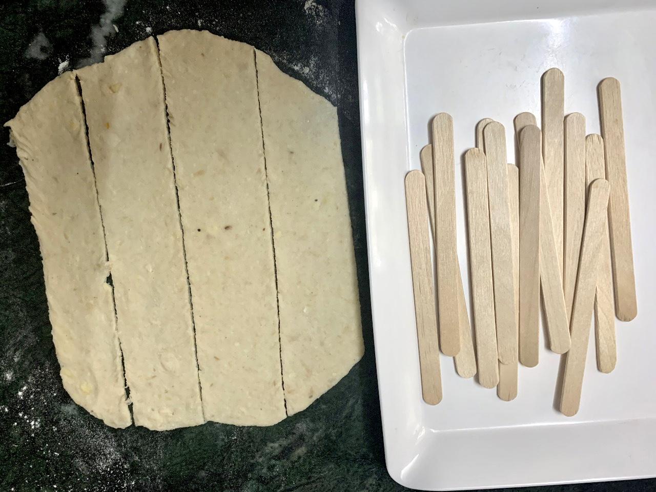Homemade Soya Chaap
