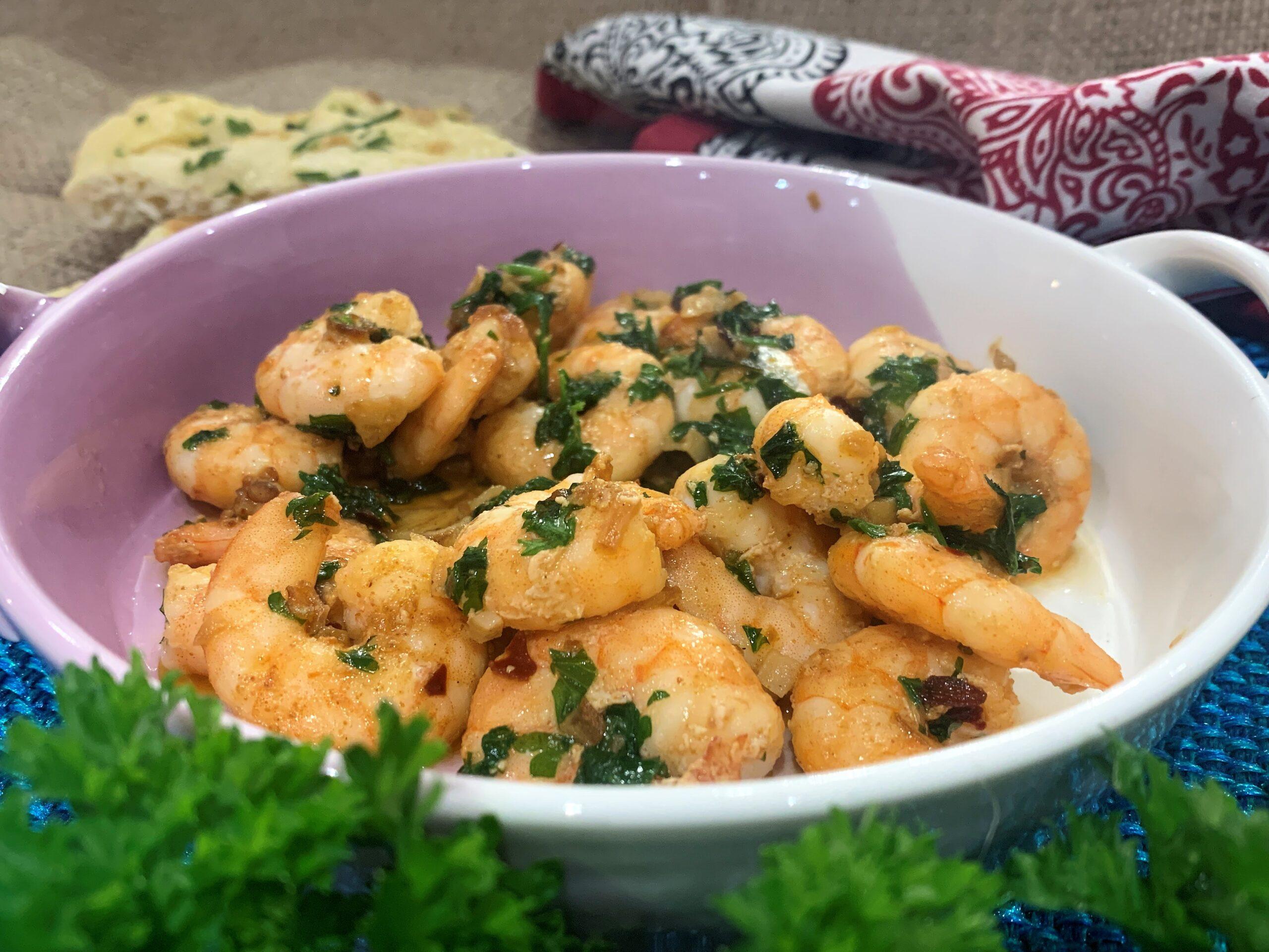Garlic Prawns (Gambas Al Ajillo)