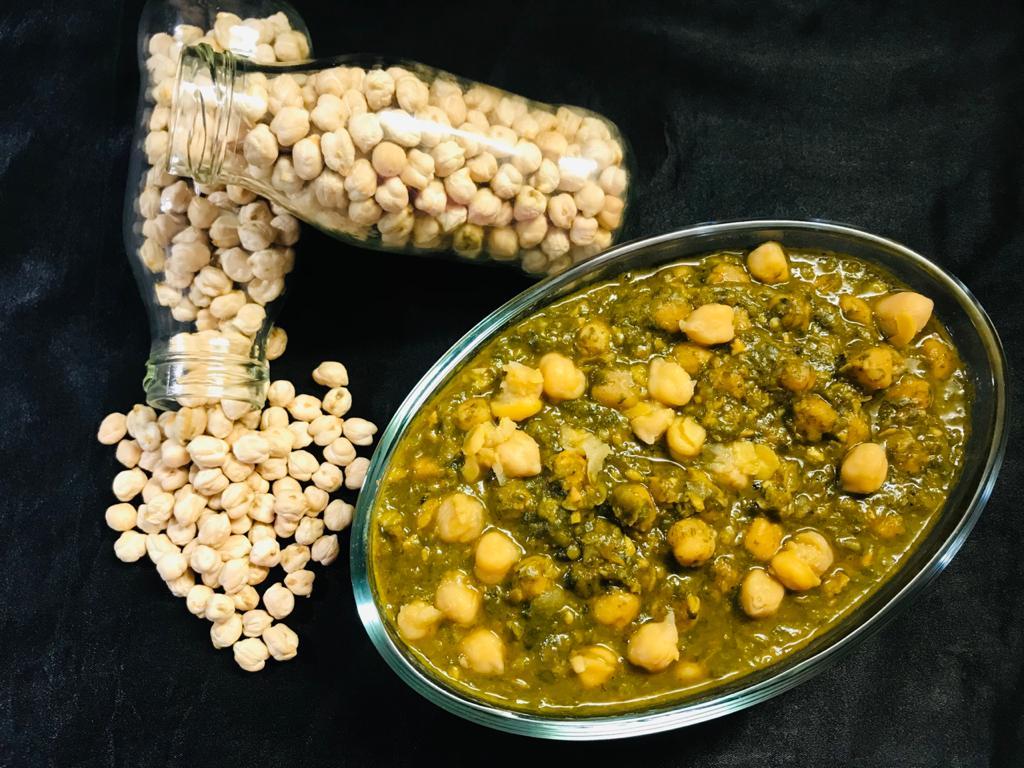 Palak Chole Masala