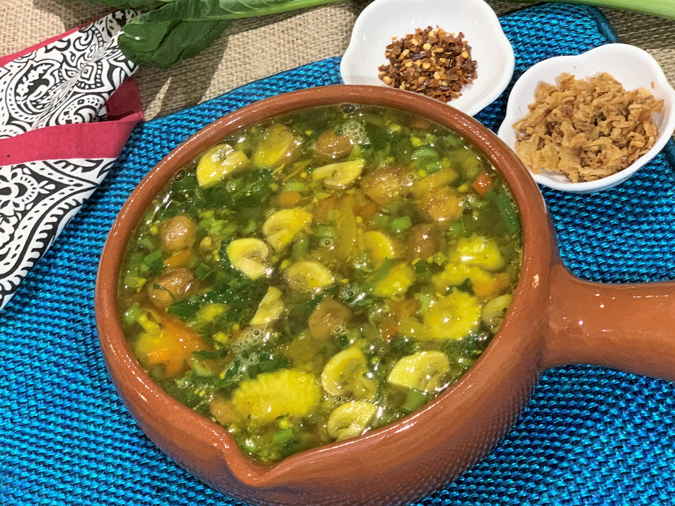 Burmese Pepper Soup (Ngayokekaung Chinye)