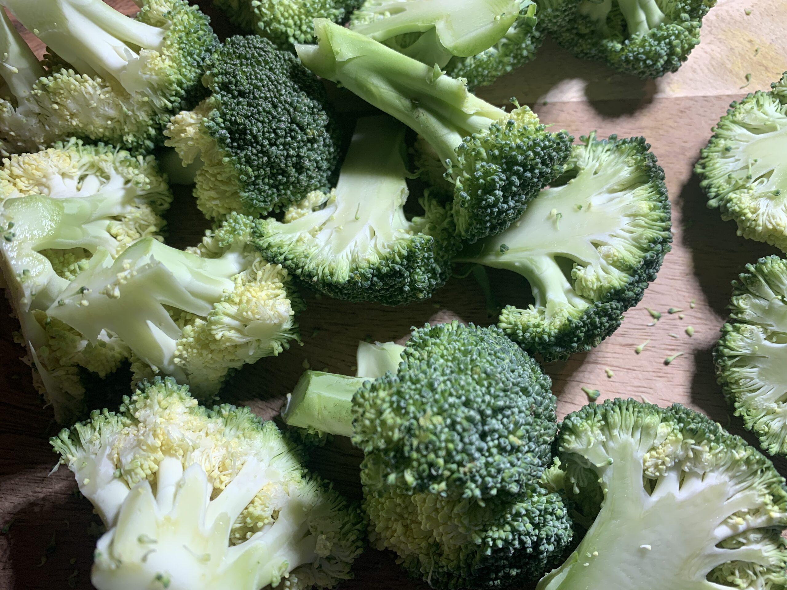 Burnt Garlic Broccoli Salad