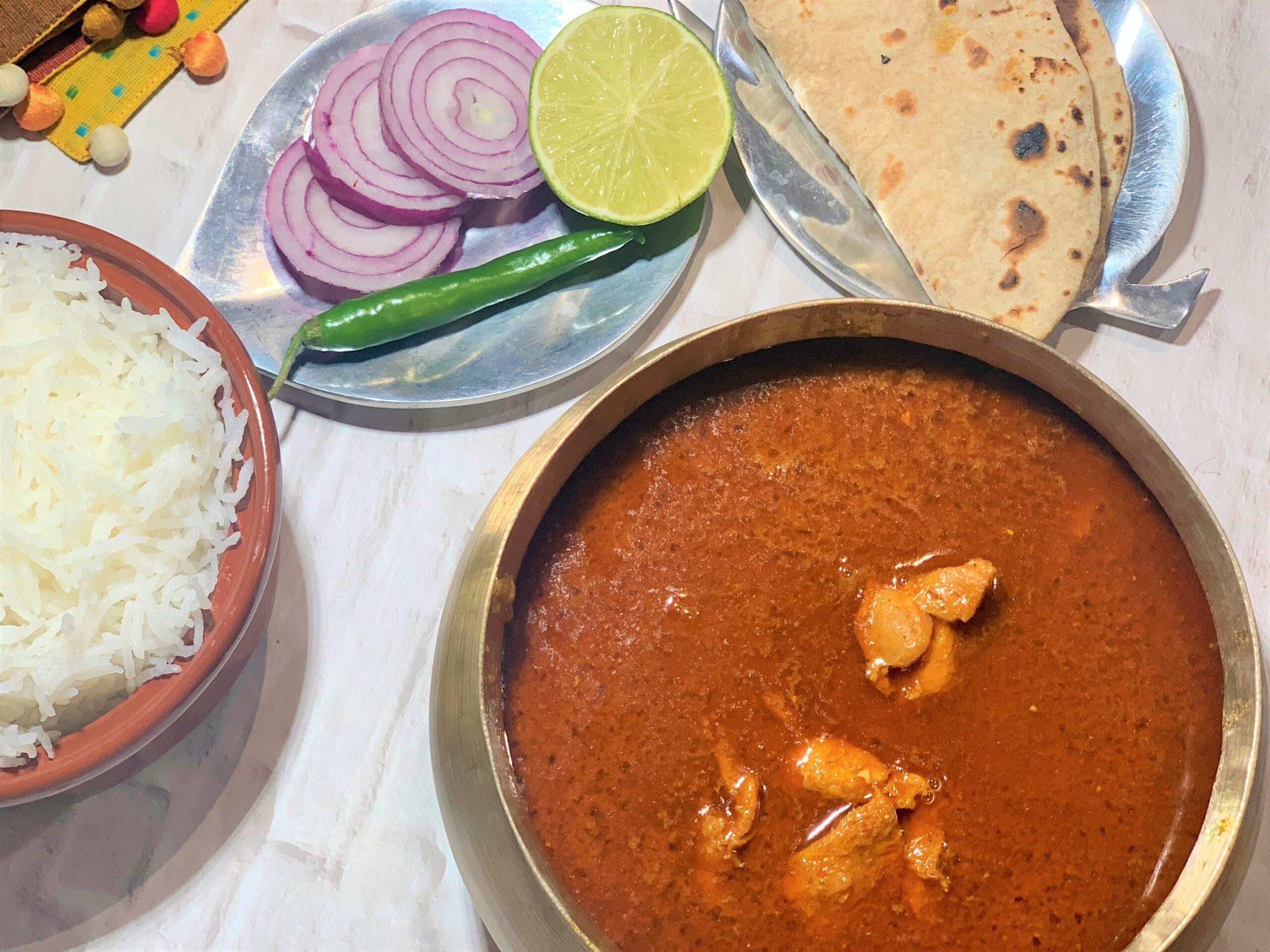 Kolhapuri Chicken Recipe