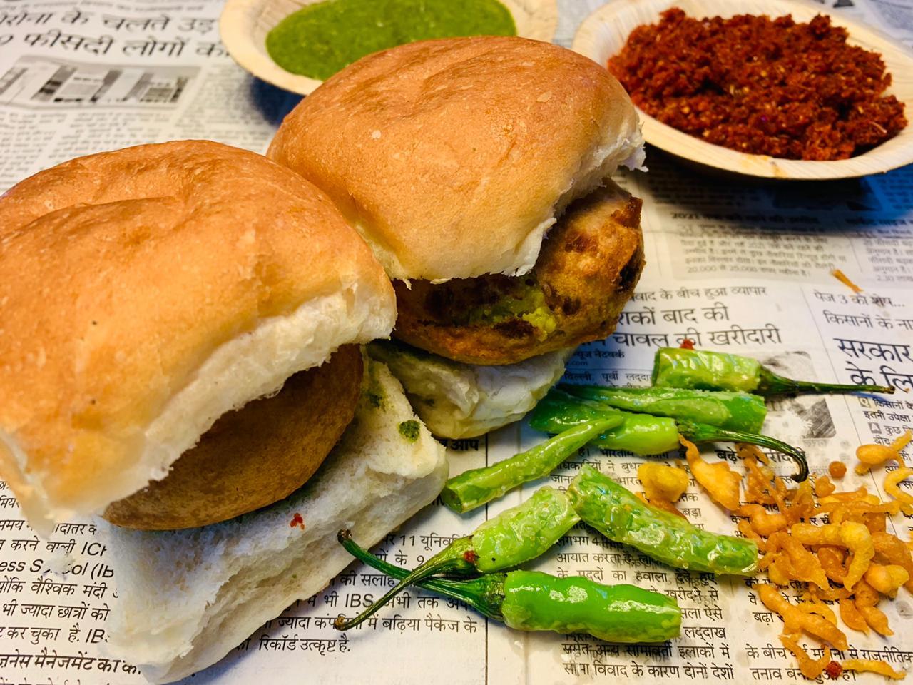 Mumbai Vada Pav