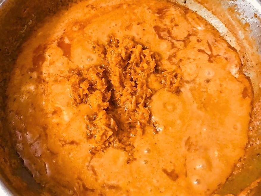 Jodhpuri Kacchi Haldi ki Subzi – Fresh Turmeric Root Curry