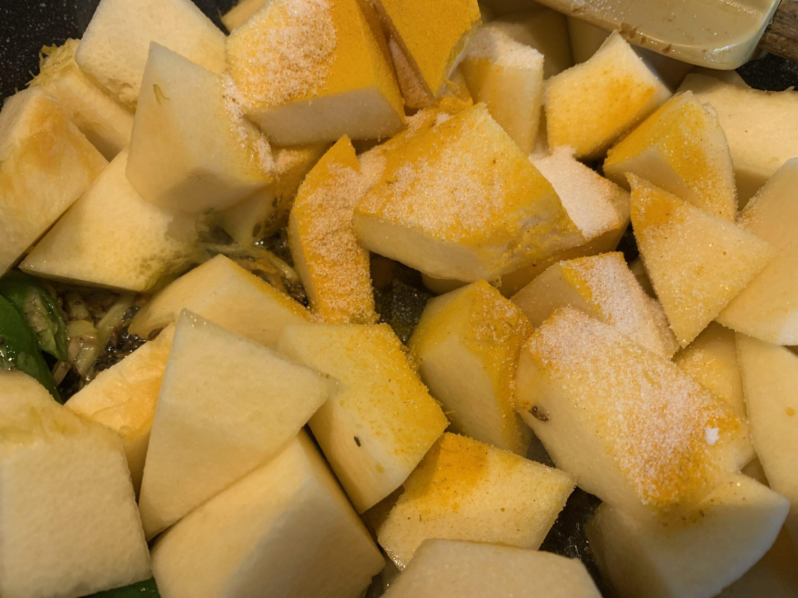 Khatta Meetha Petha /Pumpkin Curry