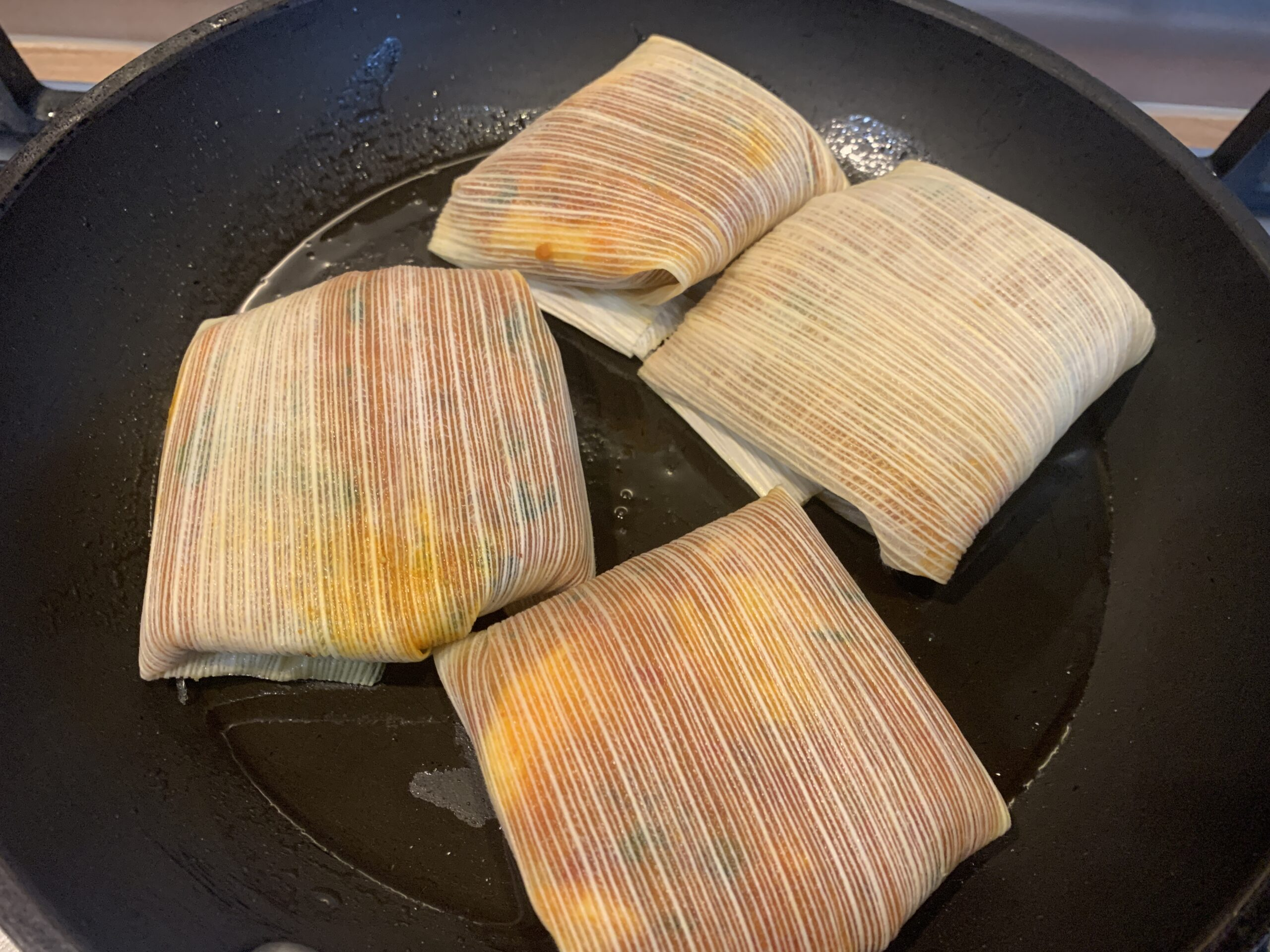Kerala Style Fish Parcels